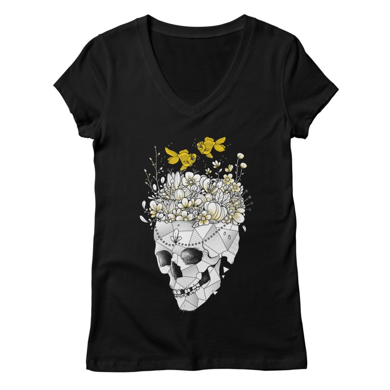 Get Lost With You Women's V-Neck by godzillarge's Artist Shop