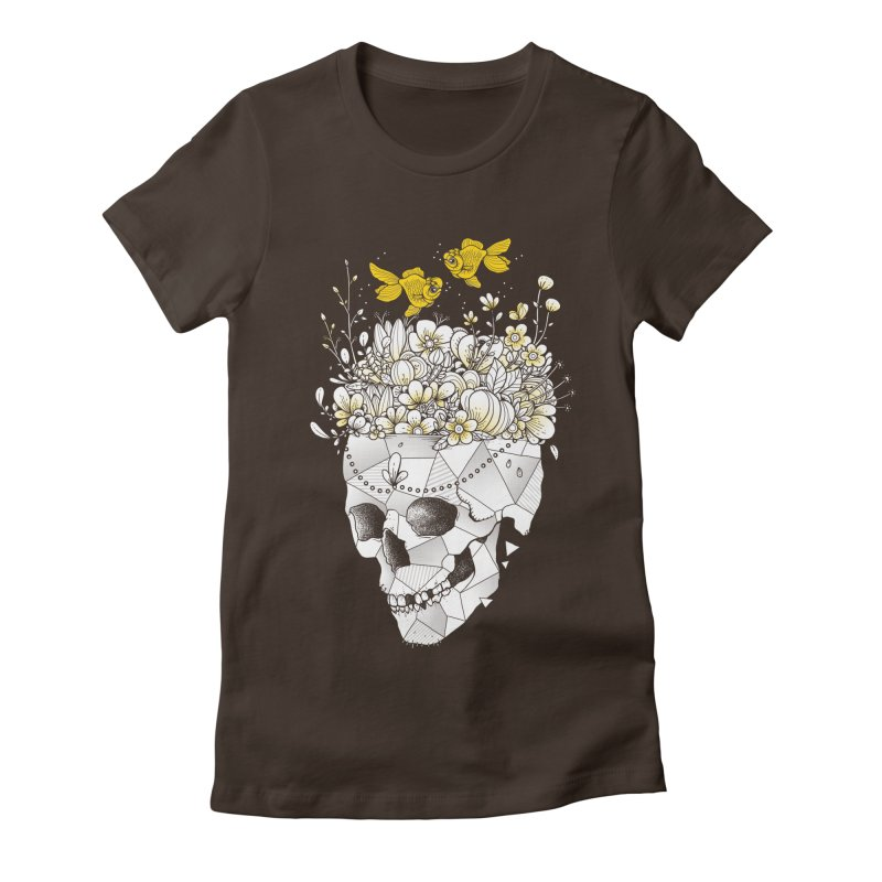 Get Lost With You Women's Fitted T-Shirt by godzillarge's Artist Shop