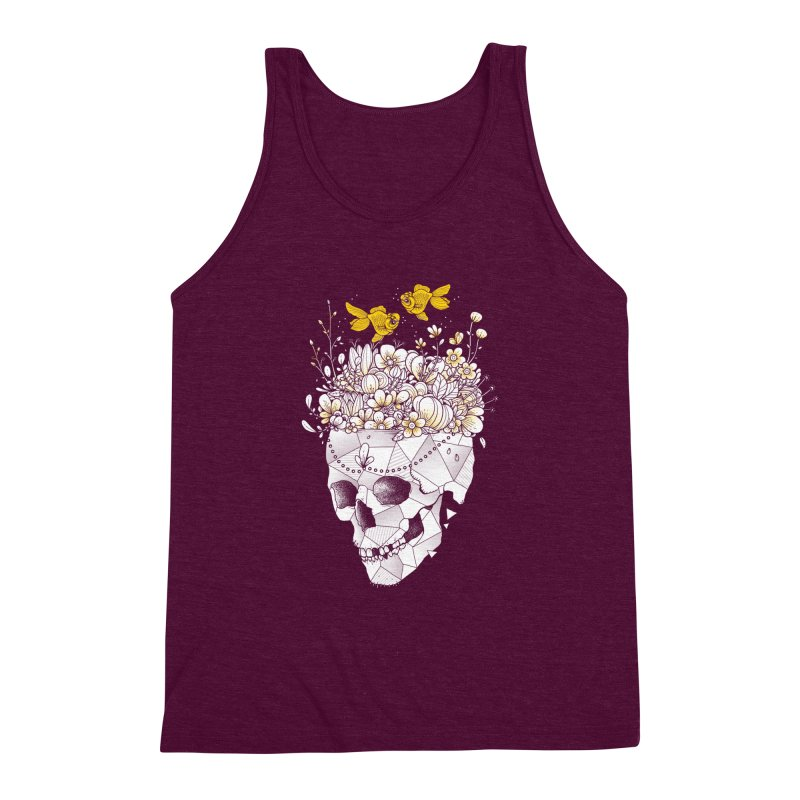 Get Lost With You Men's Triblend Tank by godzillarge's Artist Shop
