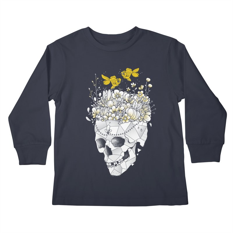 Get Lost With You Kids Longsleeve T-Shirt by godzillarge's Artist Shop