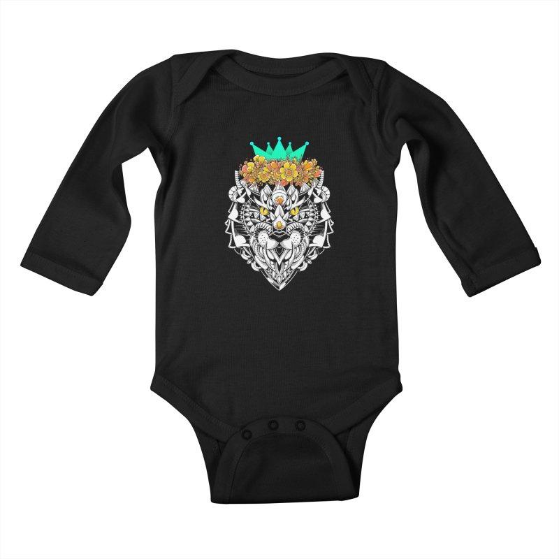 Victory Kids Baby Longsleeve Bodysuit by godzillarge's Artist Shop