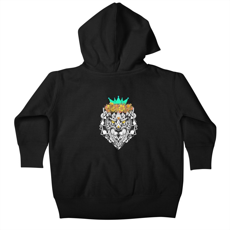 Victory Kids Baby Zip-Up Hoody by godzillarge's Artist Shop