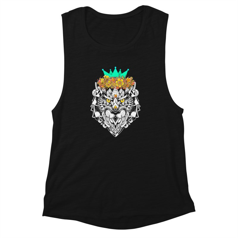 Victory Women's Muscle Tank by godzillarge's Artist Shop