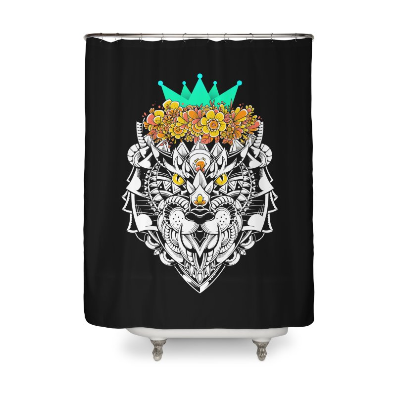 Victory Home Shower Curtain by godzillarge's Artist Shop