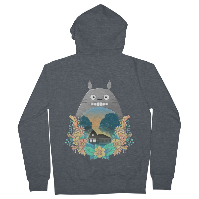 My Haunted House Women's Zip-Up Hoody by godzillarge's Artist Shop