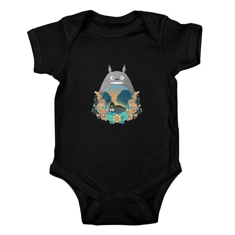 My Haunted House Kids Baby Bodysuit by godzillarge's Artist Shop