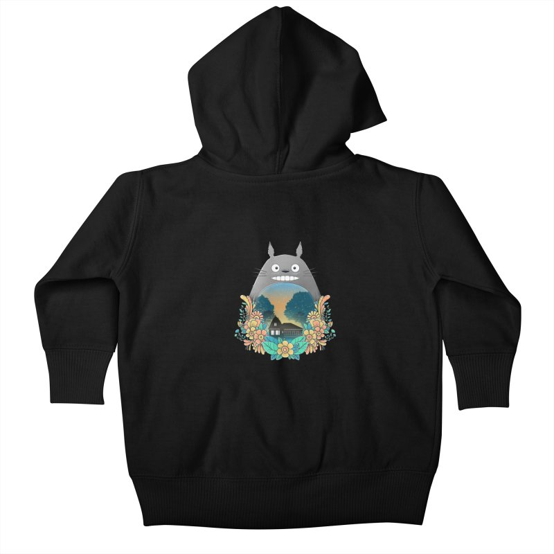 My Haunted House Kids Baby Zip-Up Hoody by godzillarge's Artist Shop