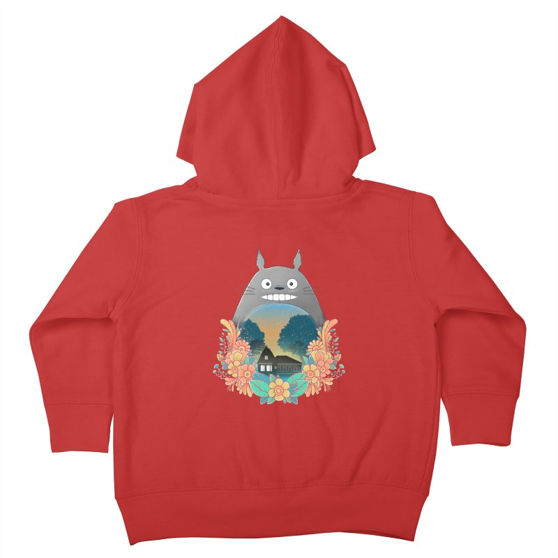My Haunted House Kids Toddler Zip-Up Hoody by godzillarge's Artist Shop