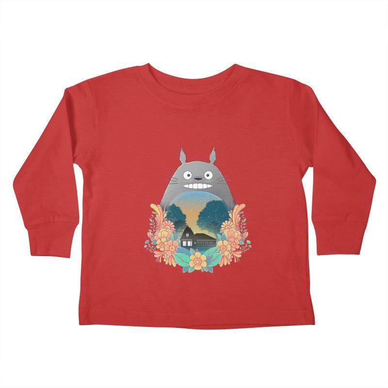 My Haunted House Kids Toddler Longsleeve T-Shirt by godzillarge's Artist Shop