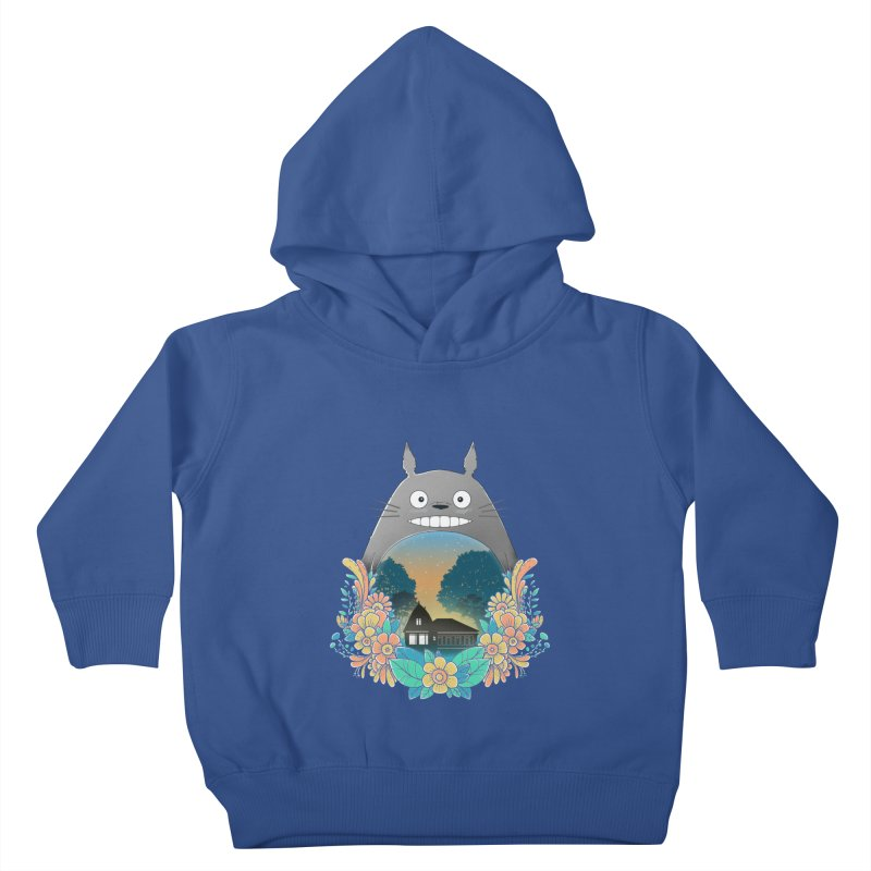 My Haunted House Kids Toddler Pullover Hoody by godzillarge's Artist Shop