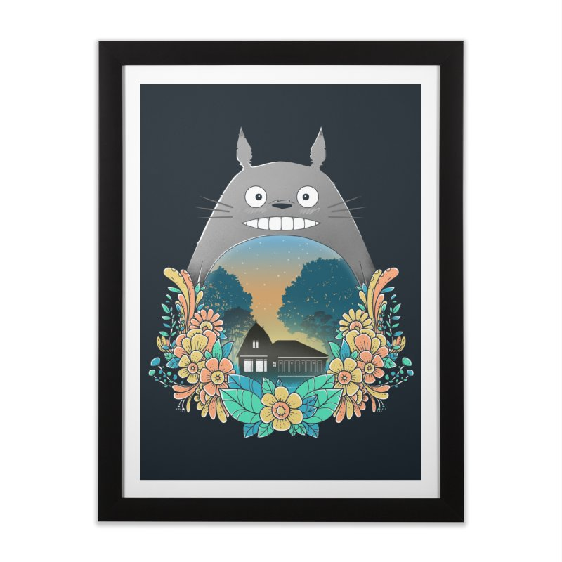 My Haunted House Home Framed Fine Art Print by godzillarge's Artist Shop