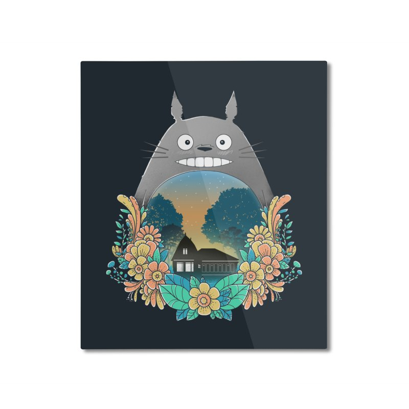 My Haunted House Home Mounted Aluminum Print by godzillarge's Artist Shop