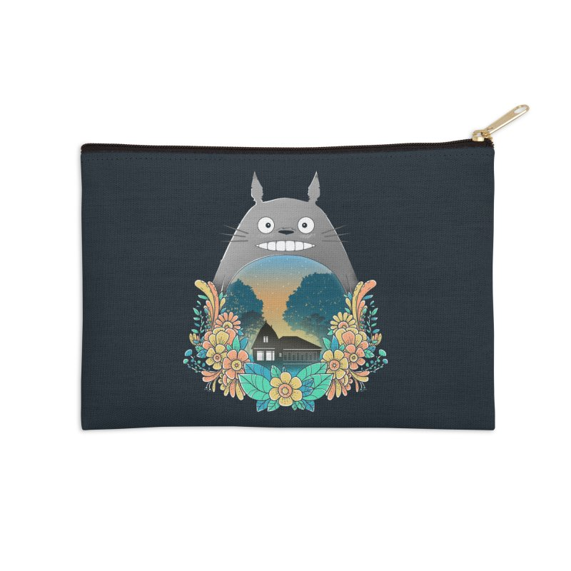 My Haunted House Accessories Zip Pouch by godzillarge's Artist Shop