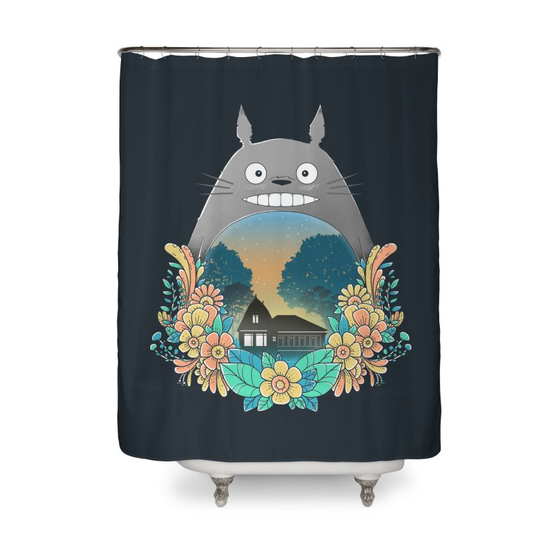My Haunted House Home Shower Curtain by godzillarge's Artist Shop