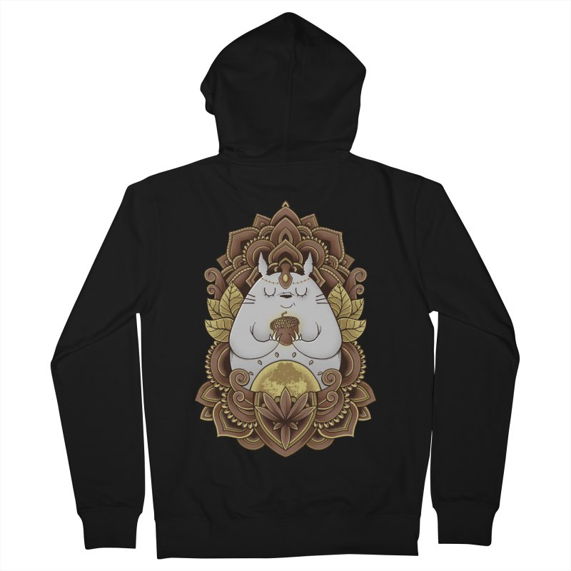 Spirit of the Forest Men's Zip-Up Hoody by godzillarge's Artist Shop