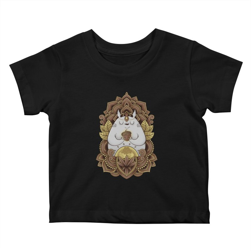 Spirit of the Forest Kids Baby T-Shirt by godzillarge's Artist Shop