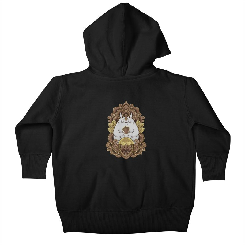 Spirit of the Forest Kids Baby Zip-Up Hoody by godzillarge's Artist Shop
