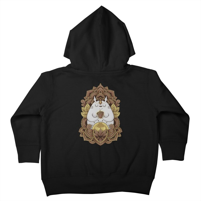 Spirit of the Forest Kids Toddler Zip-Up Hoody by godzillarge's Artist Shop