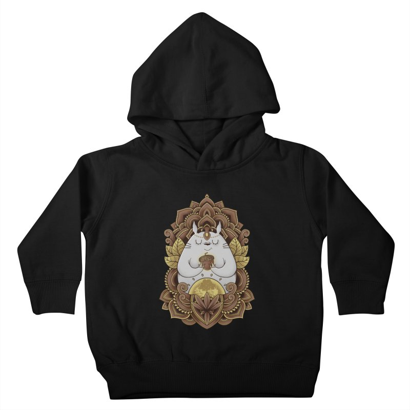 Spirit of the Forest Kids Toddler Pullover Hoody by godzillarge's Artist Shop