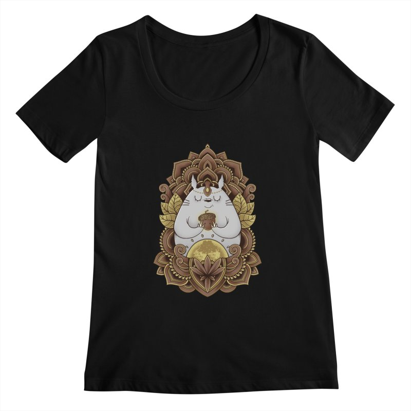 Spirit of the Forest Women's Scoopneck by godzillarge's Artist Shop