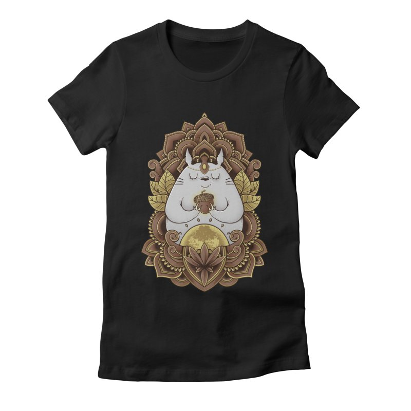 Spirit of the Forest Women's Fitted T-Shirt by godzillarge's Artist Shop