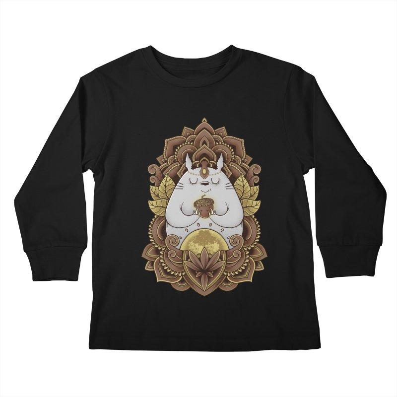 Spirit of the Forest Kids Longsleeve T-Shirt by godzillarge's Artist Shop