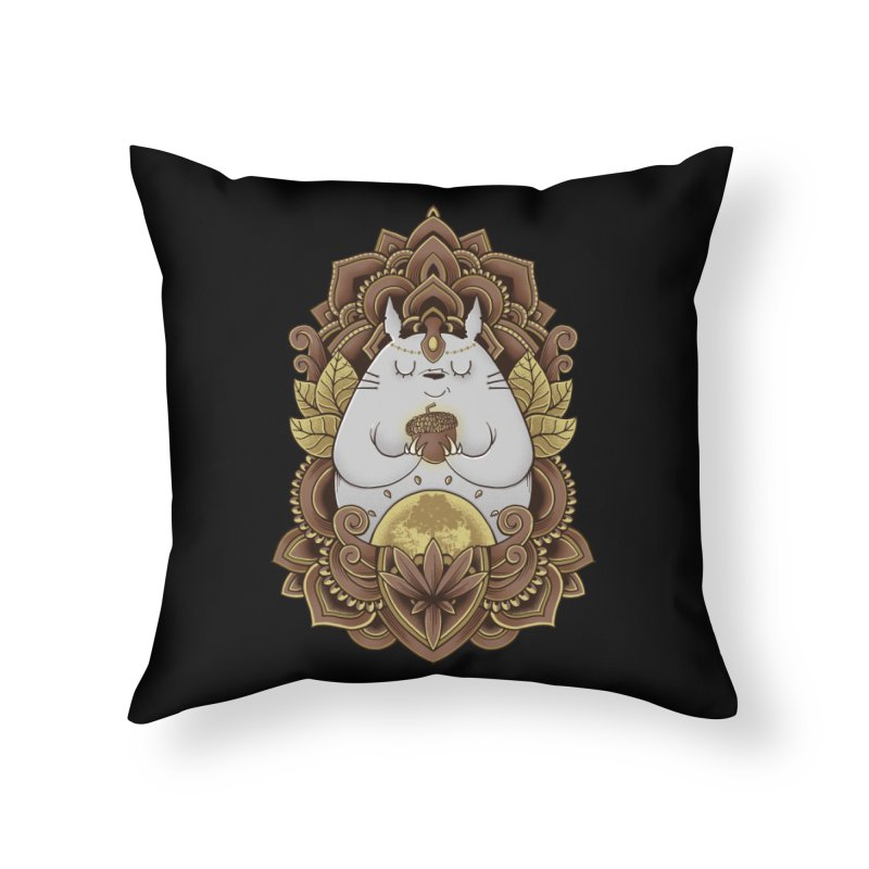 Spirit of the Forest Home Throw Pillow by godzillarge's Artist Shop