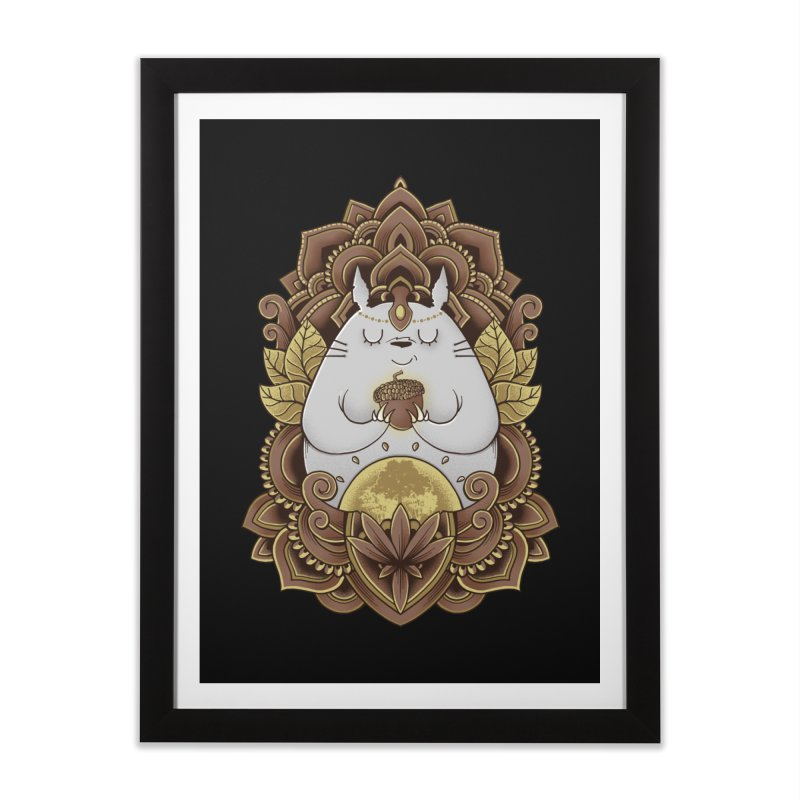 Spirit of the Forest Home Framed Fine Art Print by godzillarge's Artist Shop
