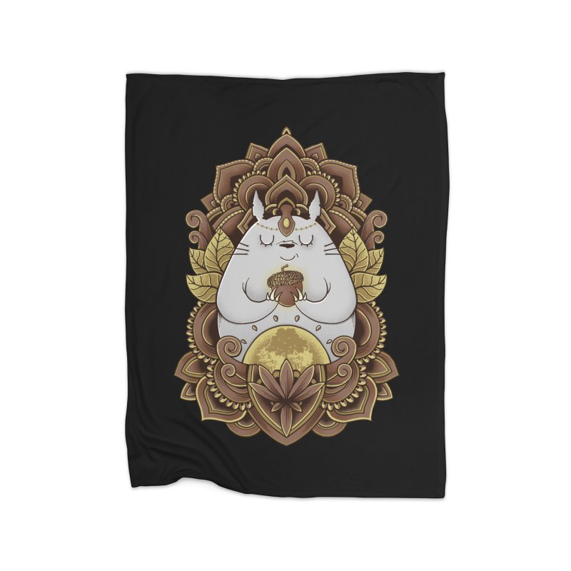 Spirit of the Forest Home Blanket by godzillarge's Artist Shop