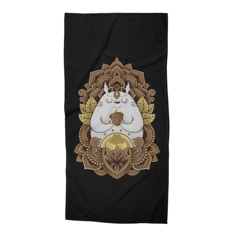 Spirit of the Forest Accessories Beach Towel by godzillarge's Artist Shop