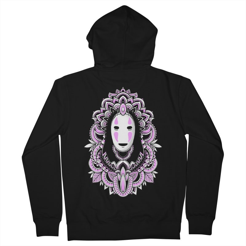 Faceless Spirit Men's Zip-Up Hoody by godzillarge's Artist Shop