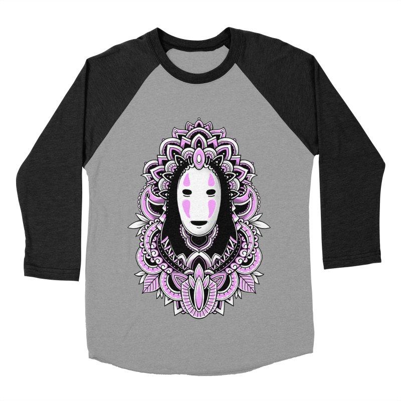 Faceless Spirit Men's Baseball Triblend T-Shirt by godzillarge's Artist Shop