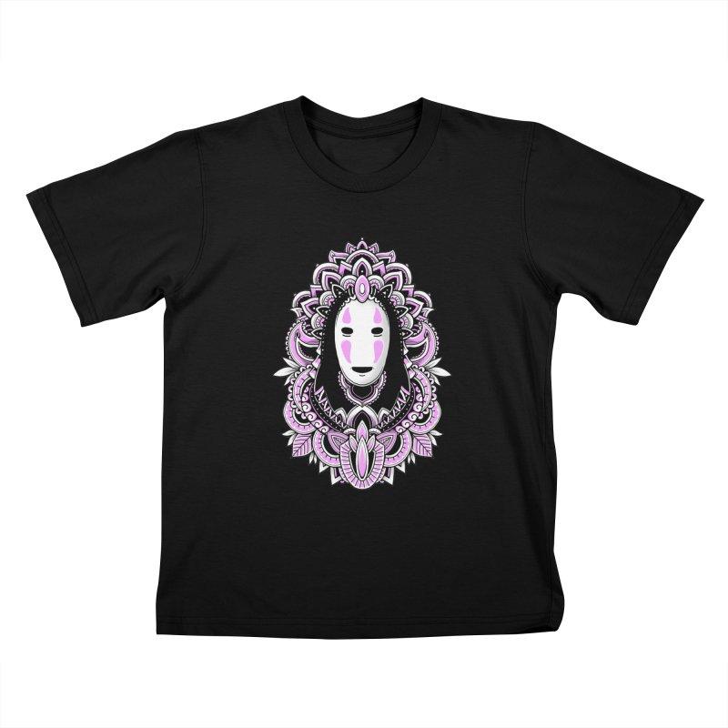 Faceless Spirit Kids T-Shirt by godzillarge's Artist Shop