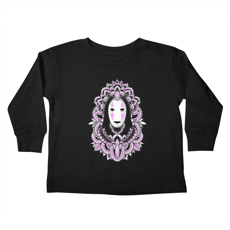 Faceless Spirit Kids Toddler Longsleeve T-Shirt by godzillarge's Artist Shop