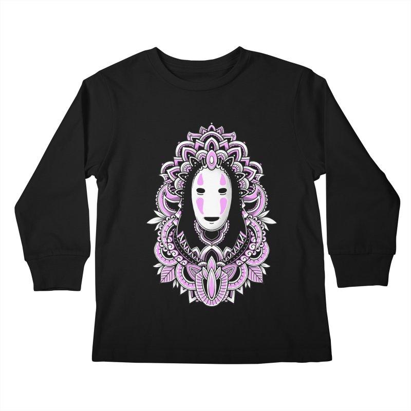 Faceless Spirit Kids Longsleeve T-Shirt by godzillarge's Artist Shop
