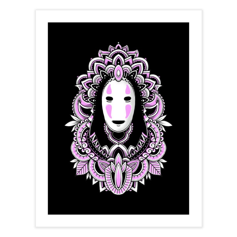 Faceless Spirit Home Fine Art Print by godzillarge's Artist Shop