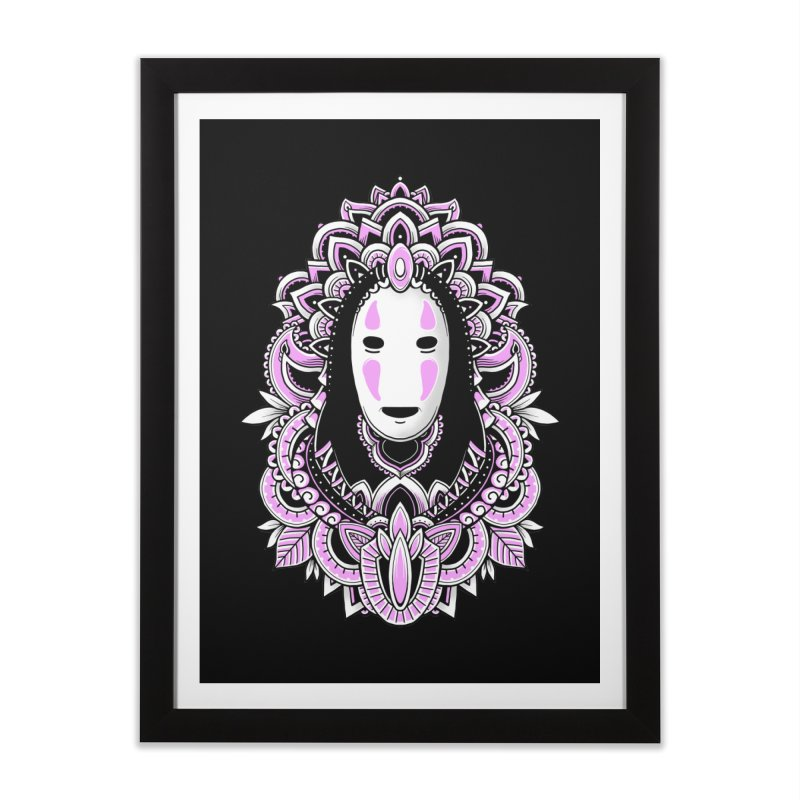 Faceless Spirit Home Framed Fine Art Print by godzillarge's Artist Shop