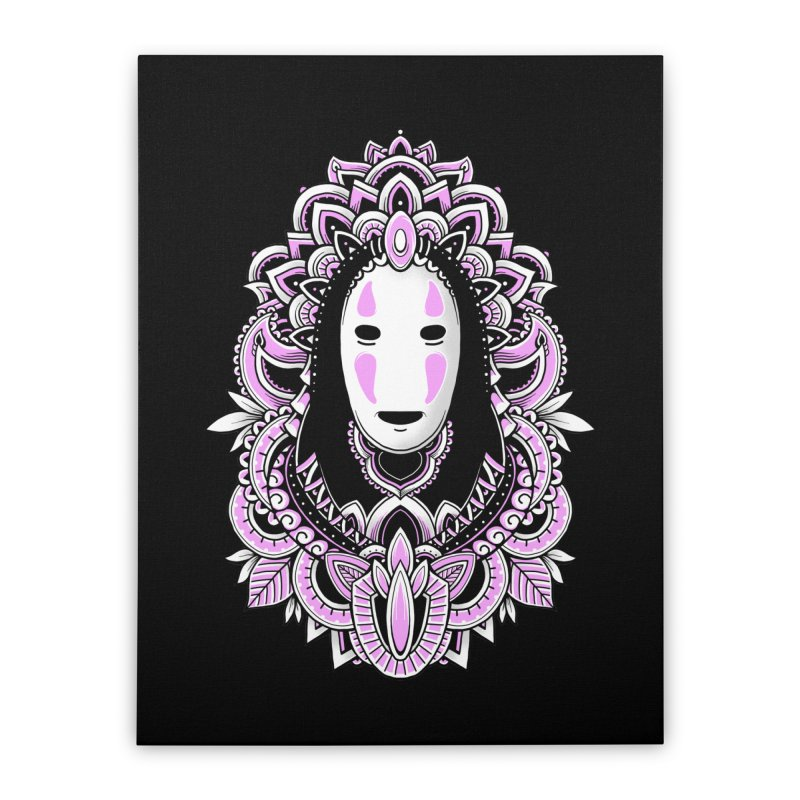 Faceless Spirit Home Stretched Canvas by godzillarge's Artist Shop