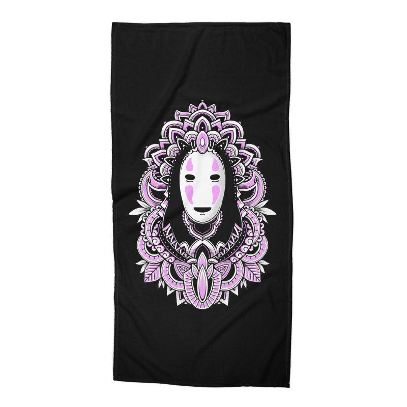 Faceless Spirit Accessories Beach Towel by godzillarge's Artist Shop