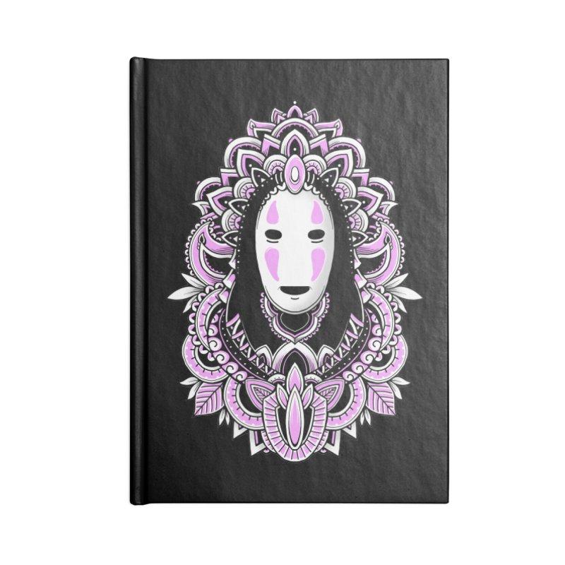Faceless Spirit Accessories Notebook by godzillarge's Artist Shop