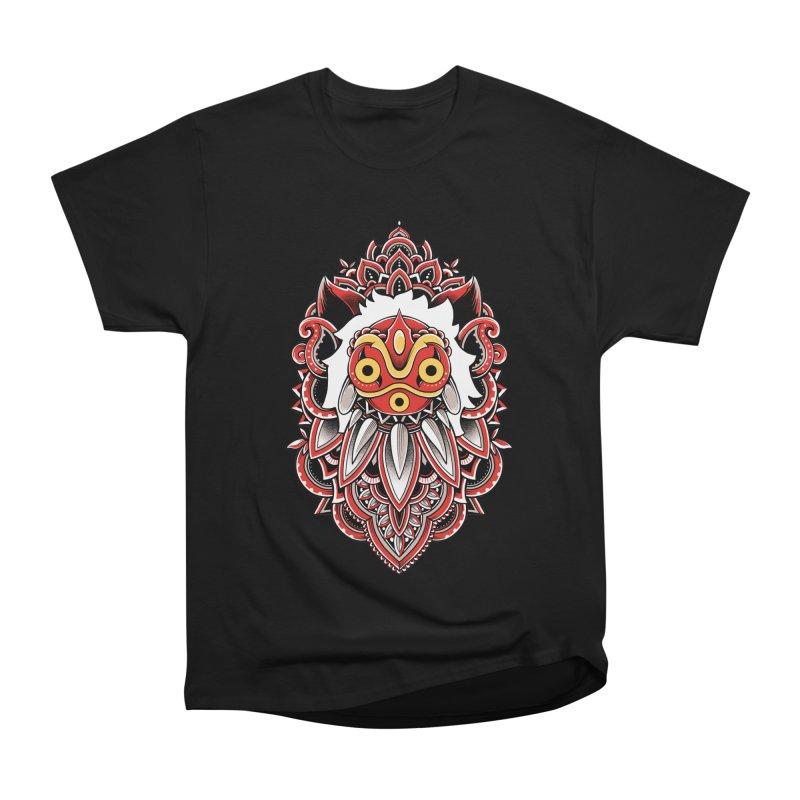 Wolf Princess Men's Heavyweight T-Shirt by godzillarge's Artist Shop