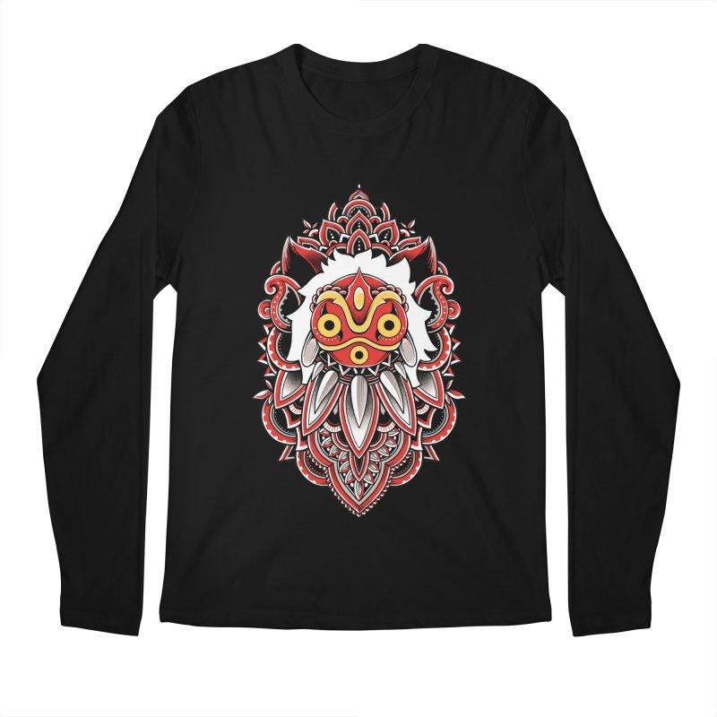 Wolf Princess Men's Regular Longsleeve T-Shirt by godzillarge's Artist Shop
