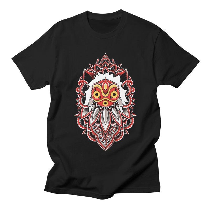 Wolf Princess Women's Regular Unisex T-Shirt by godzillarge's Artist Shop