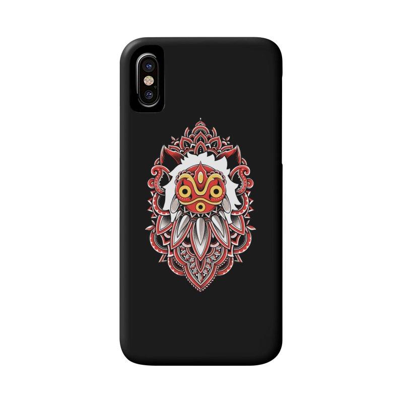 Wolf Princess Accessories Phone Case by godzillarge's Artist Shop