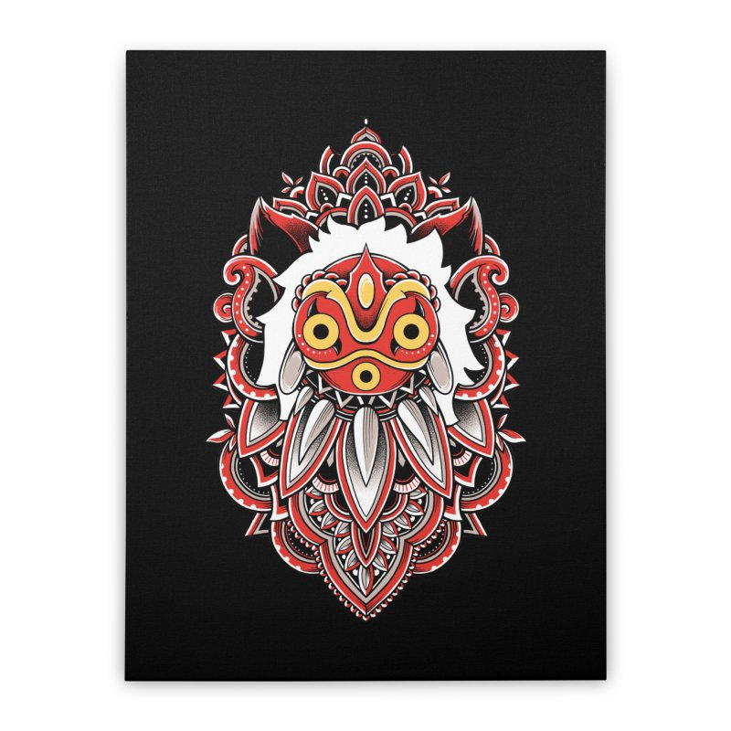 Wolf Princess Home Stretched Canvas by godzillarge's Artist Shop