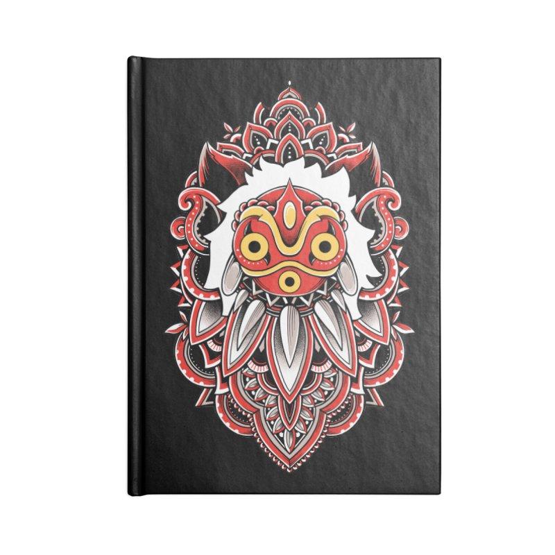 Wolf Princess Accessories Notebook by godzillarge's Artist Shop