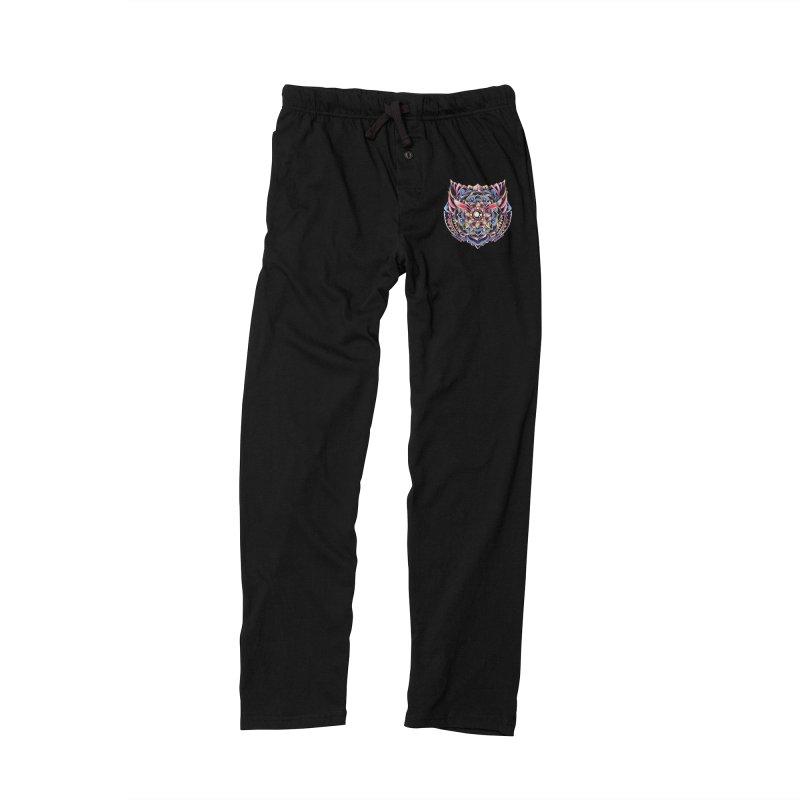 Cat Mandala Men's Lounge Pants by godzillarge's Artist Shop