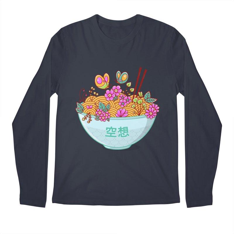 Ramen Fantasy Men's Longsleeve T-Shirt by godzillarge's Artist Shop