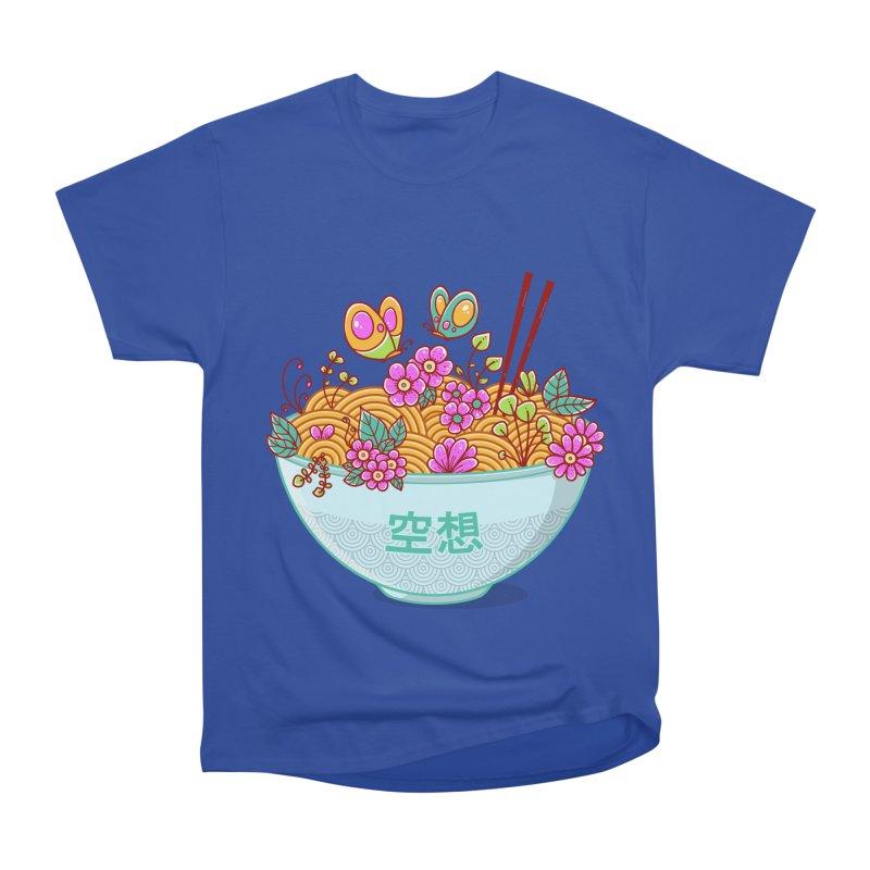 Ramen Fantasy Men's Heavyweight T-Shirt by godzillarge's Artist Shop