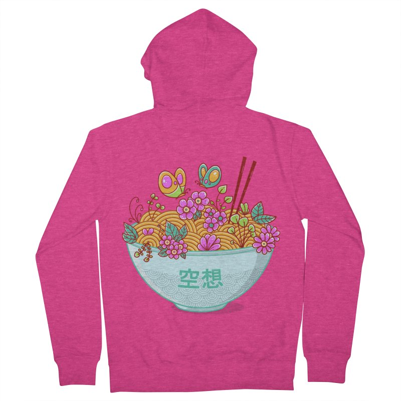 Ramen Fantasy Women's French Terry Zip-Up Hoody by godzillarge's Artist Shop